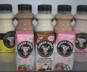 Delicious Shaken Udder Milkshakes Review & Giveaway