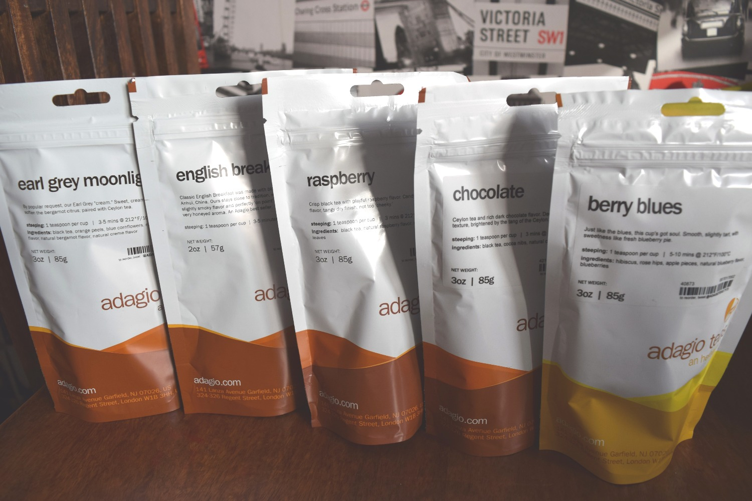 Trying Out Adagio Teas + a giveaway